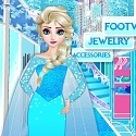 Frozen Elsa Shopping