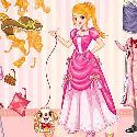 Princess Barbie Dress Up