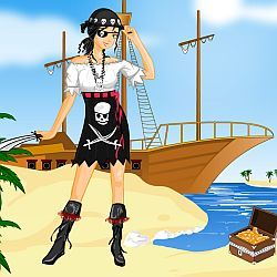 Pirate Girl Dress Up
