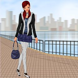 Trendy Teen Girl Dress Up