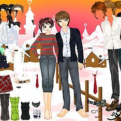 Winter Time Couple Dressup